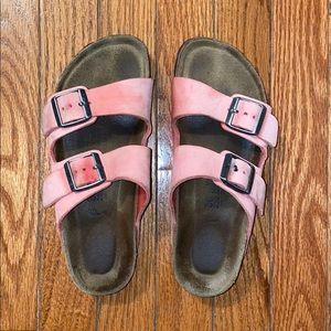 Pink Birkenstocks